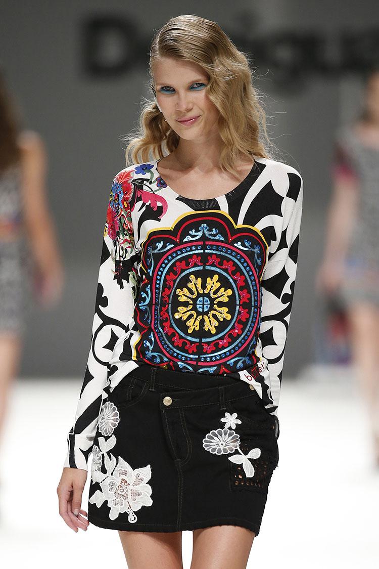 Barcelona Fashion | Desigual SS16 & Sita Murt SS16