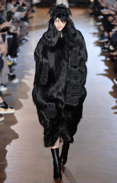 Stella fur free fur black
