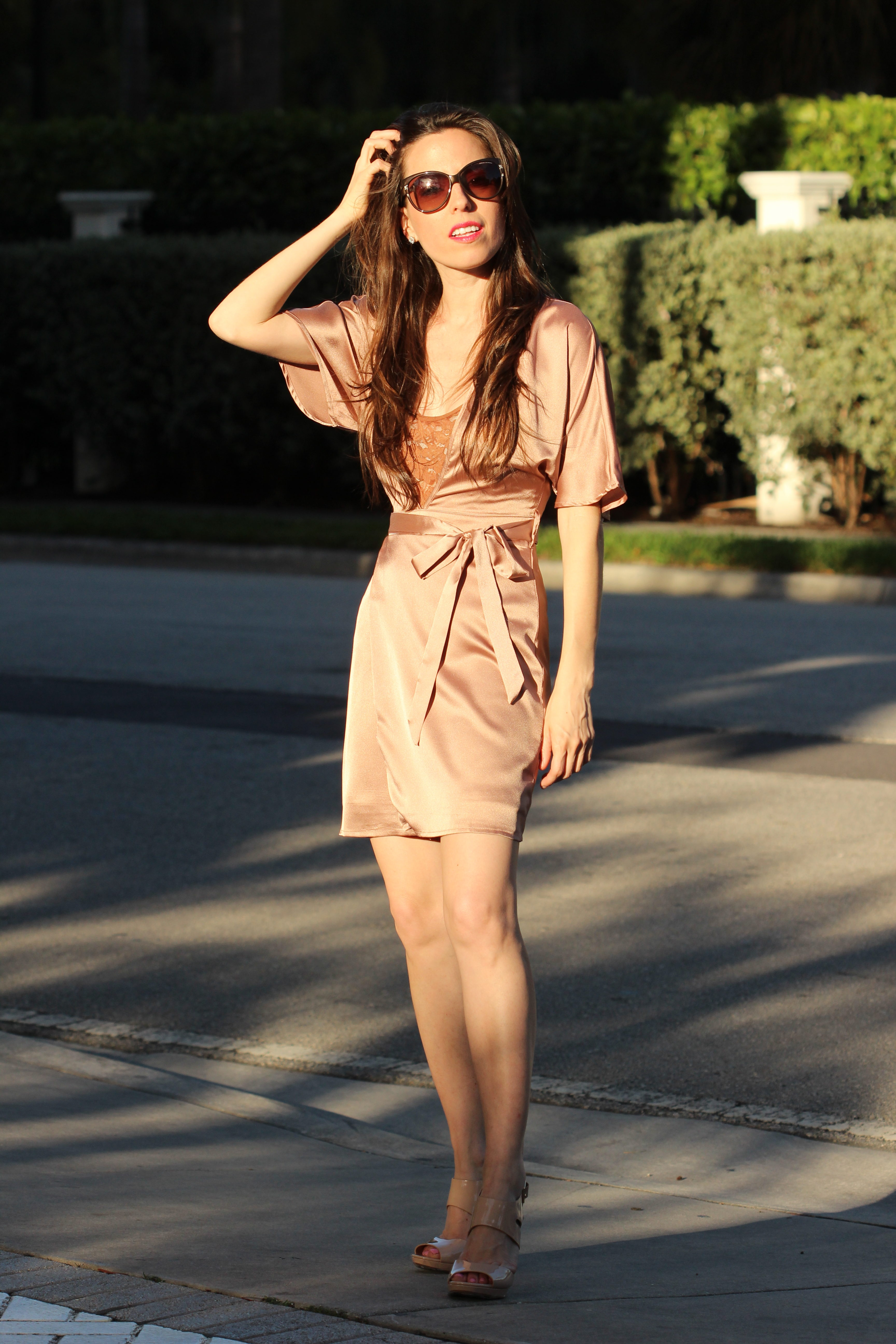 satin wrap dress ana florentina