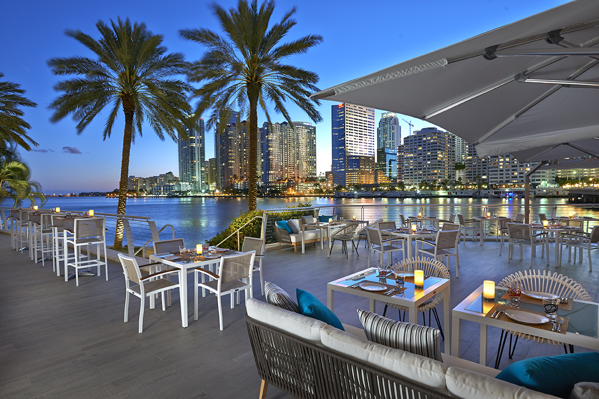 BEST MIAMI RESTAURANTS WITH A VIEW!