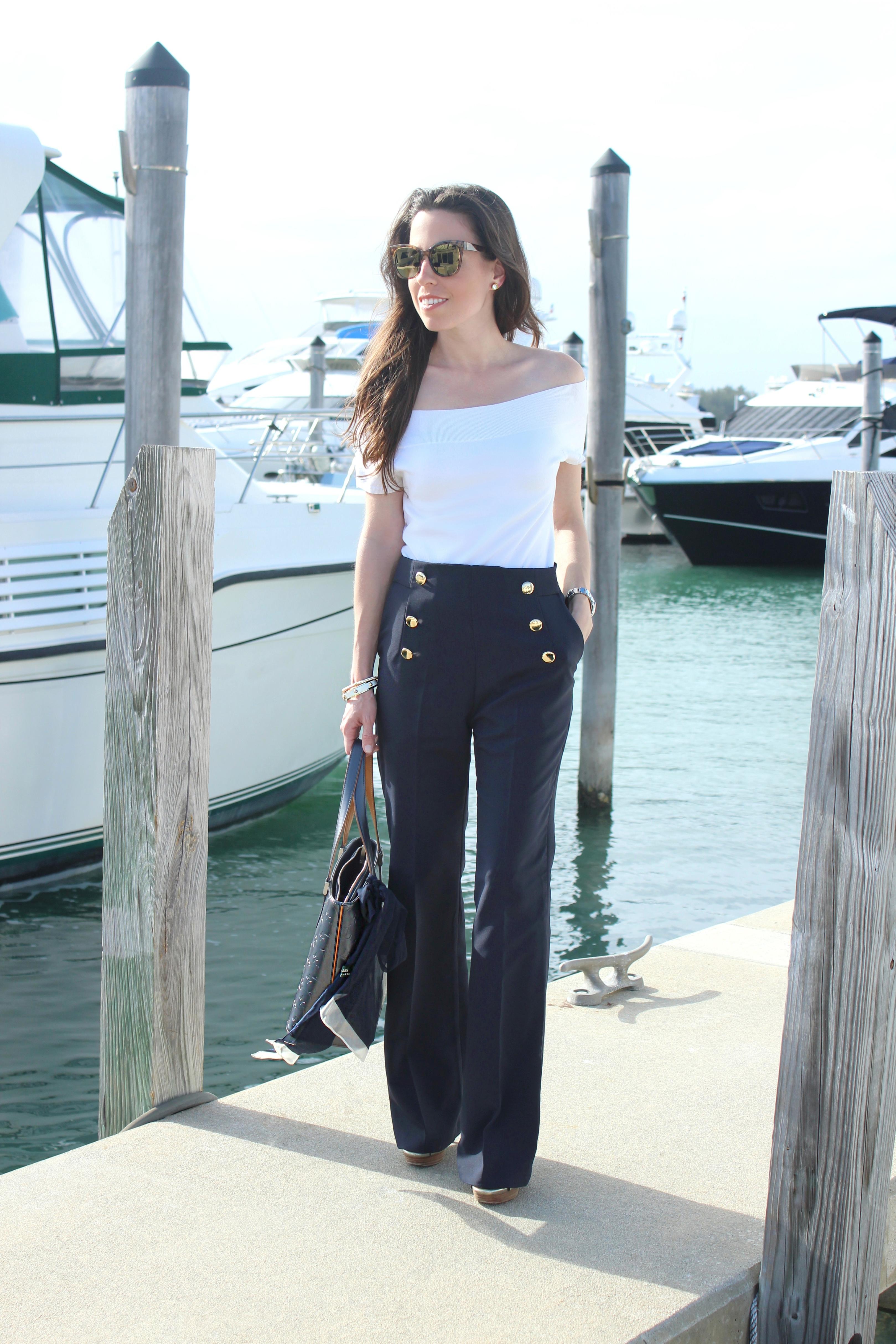 storets navy pants