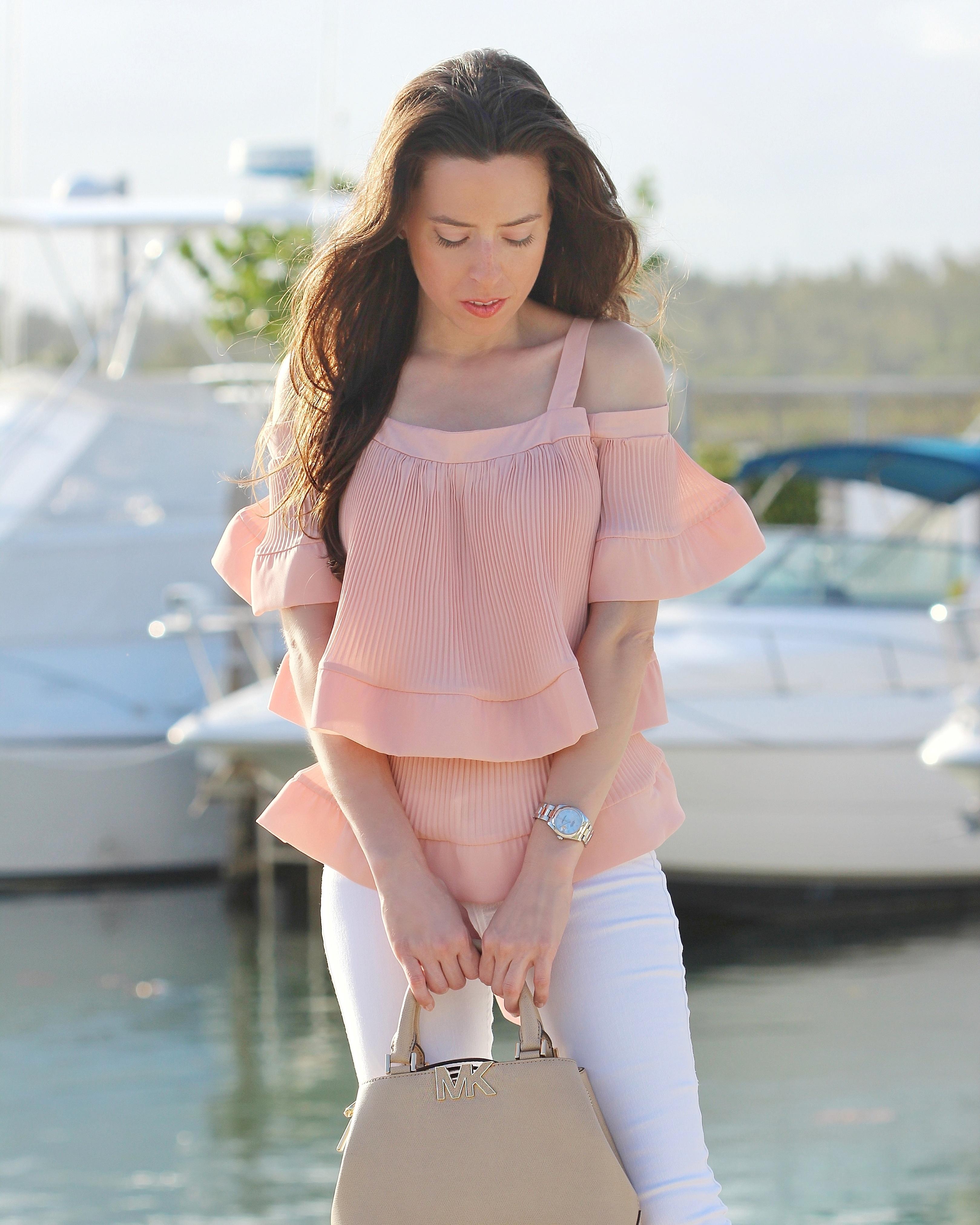 storets ruffle blouse