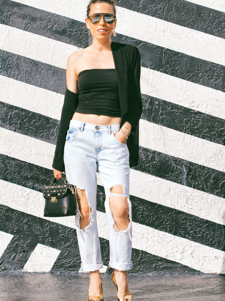 """Look of the Day: """"The Boyfriend Jeans"""""""