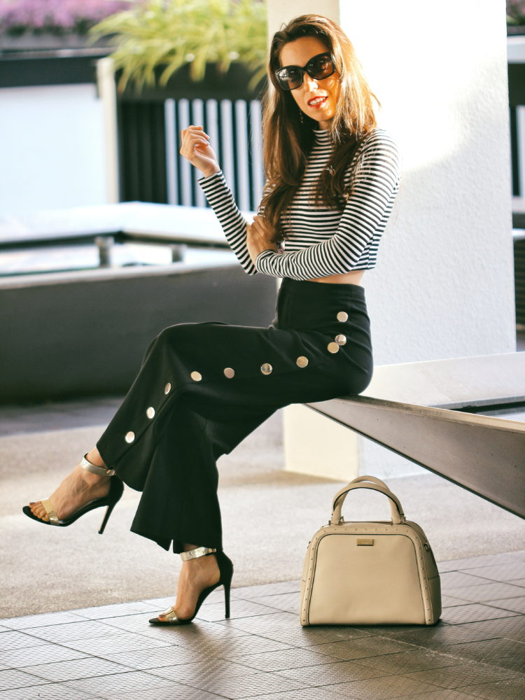 FALL MUST HAVE: Wide Leg Pants With Buttons