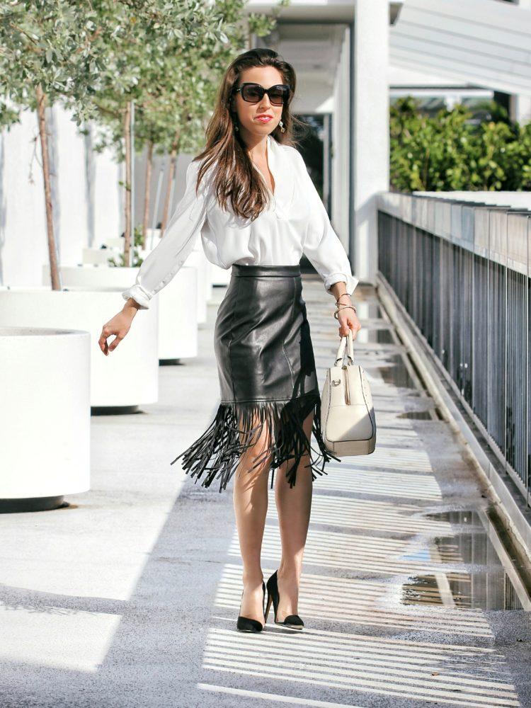Everyone is Wearing: Fringe Skirts!