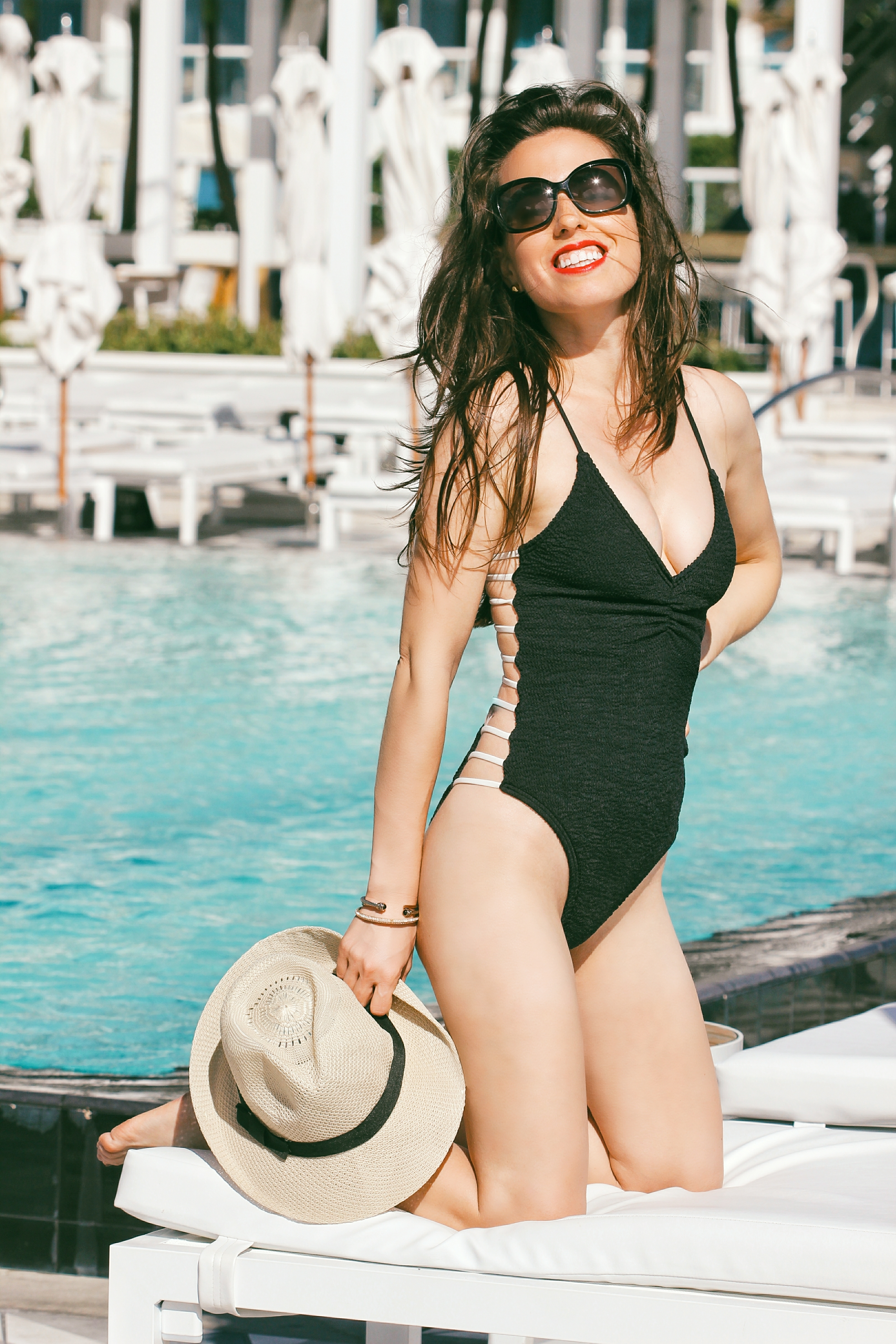 L SPACE ONE PIECE swimsuit nordstrom miami blogger