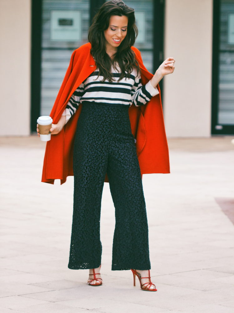 TRENDING: How to Style a Red Coat