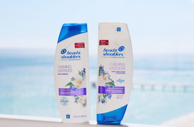head and shoulders shampoo calming lavender