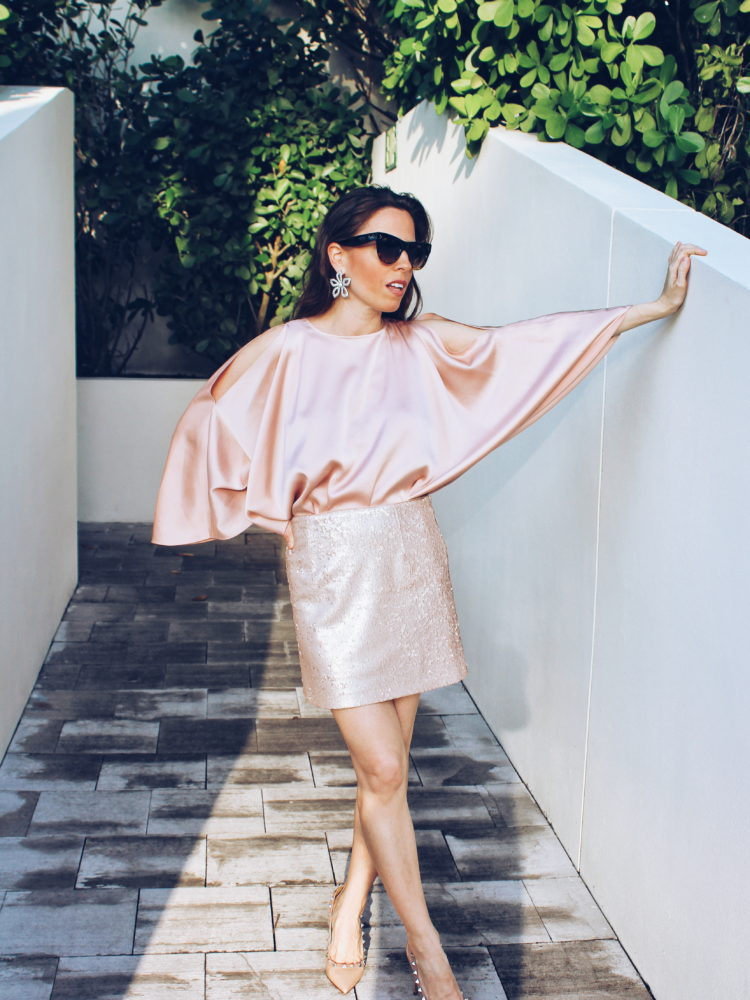 Monochromatic Look: in Blush!