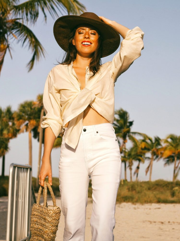 Summer Looks: All-White & Chambray!