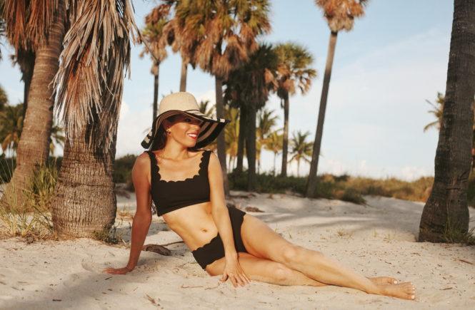 Marysia black bikini