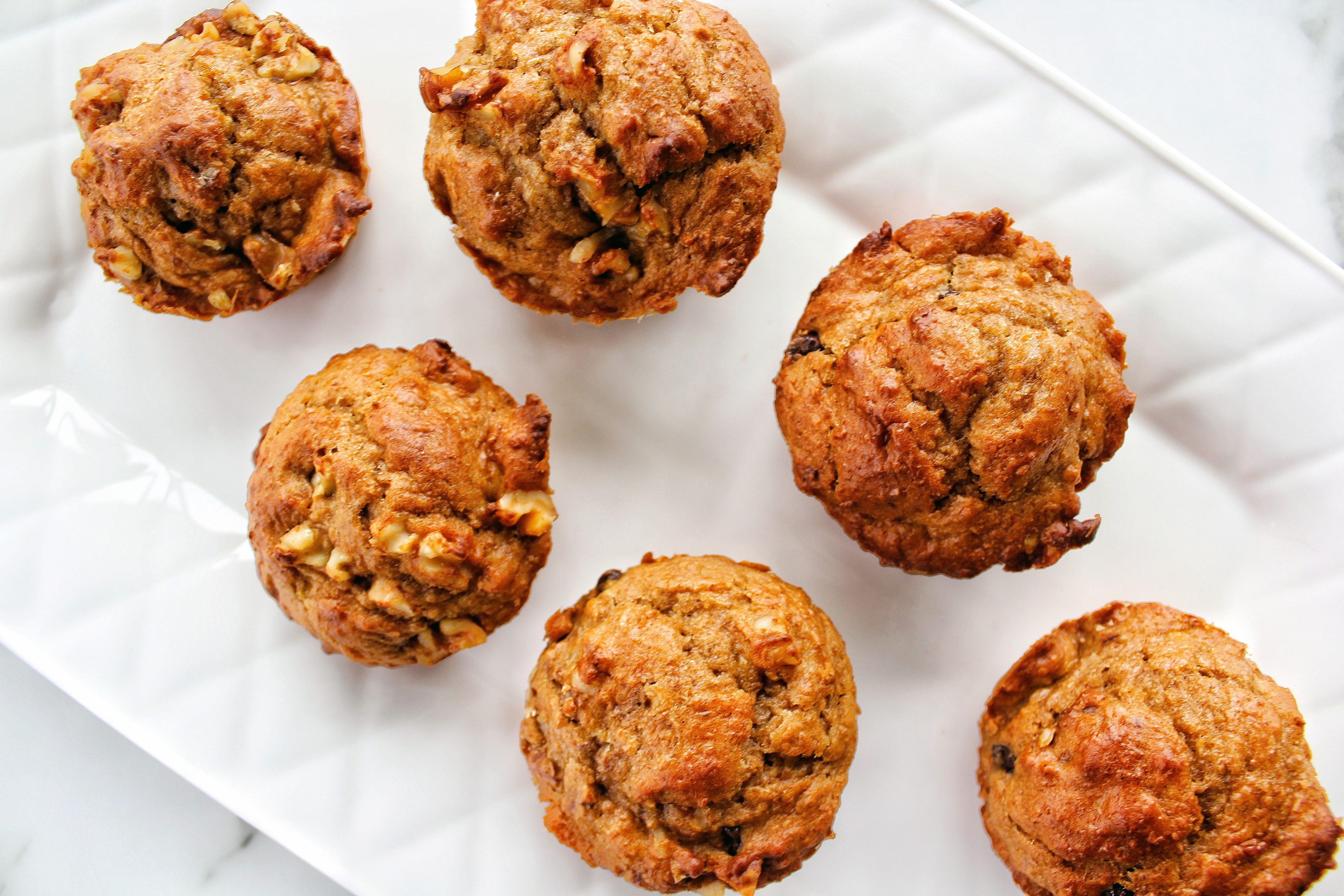 how to make banana bran muffins